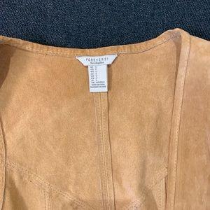 Forever 21 Jackets & Coats - Leather Fringe Vest
